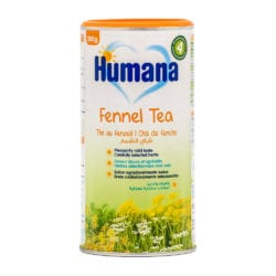 front view of fennel tea package